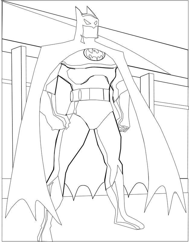 Batman quilt rough sketch