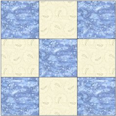9-patch quilt block