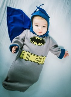 Flying Bat-baby