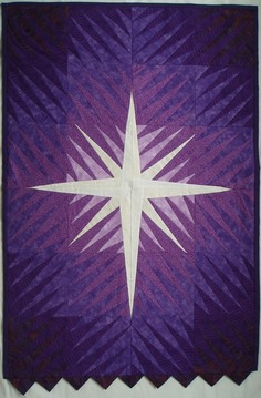 Liturgical banner for Advent/Lent