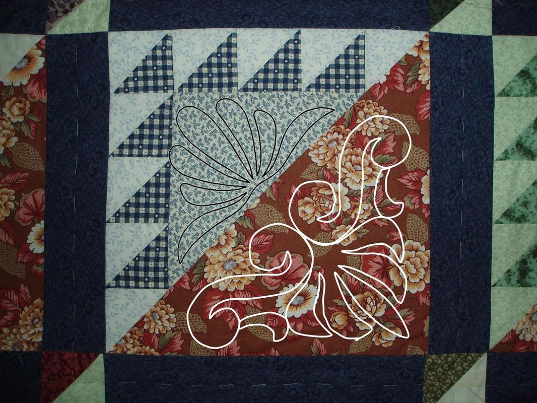 Lost Ships quilting design